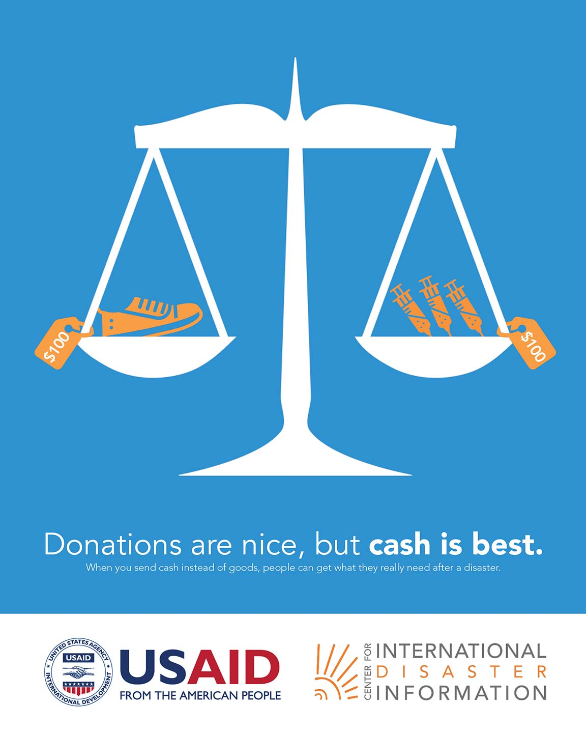 Donations are Nice, But Cash is Best
