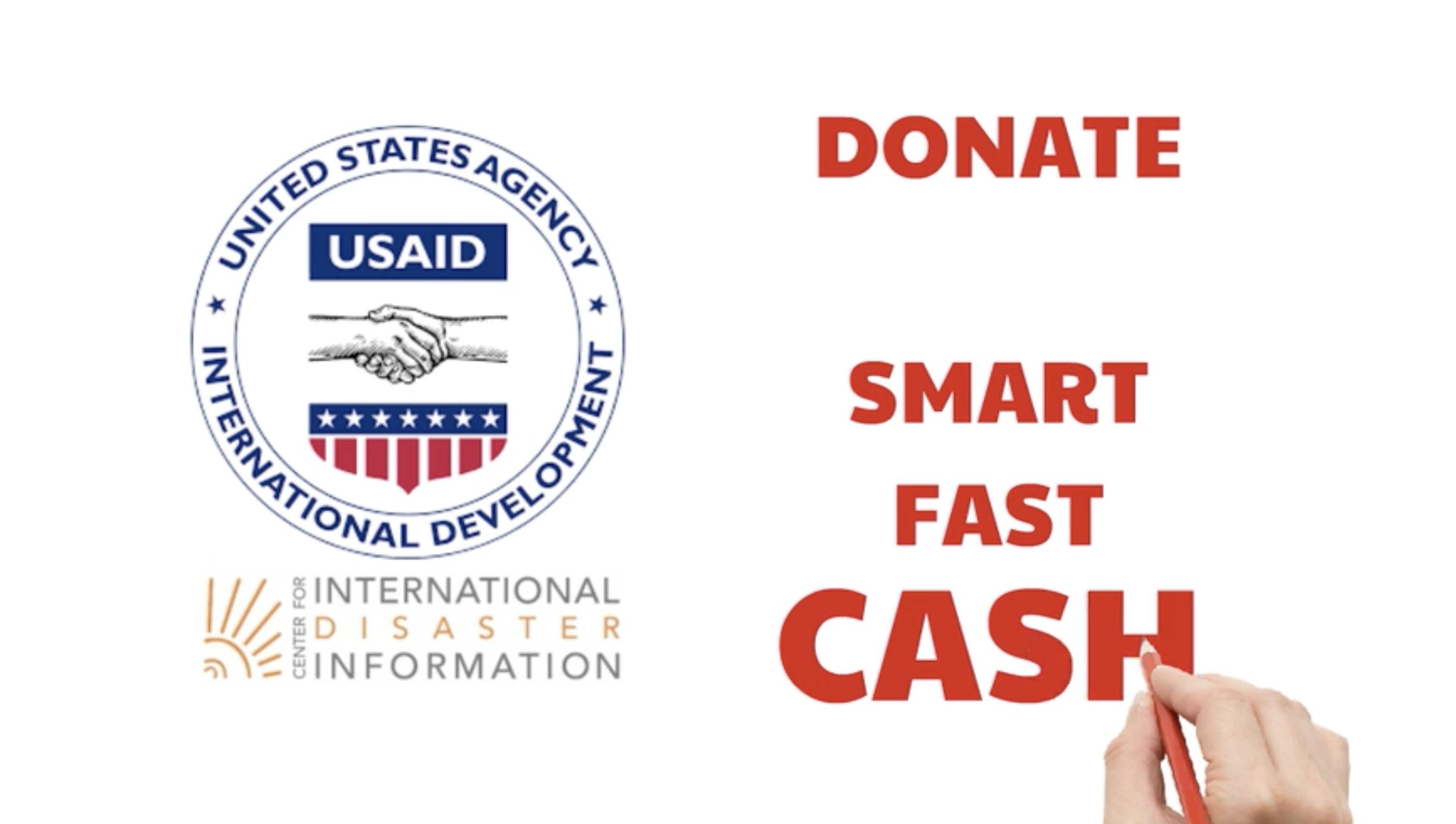Donate Smart, Fast. Donate Cash